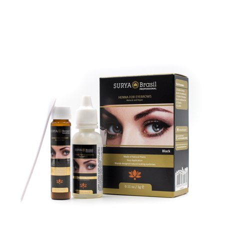 Surya Brasil Henna For Eyebrows - Option : Black