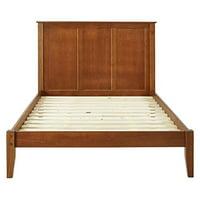 Shaker Style Panel Size Platform Bed, Multiple Finishes and Sizes
