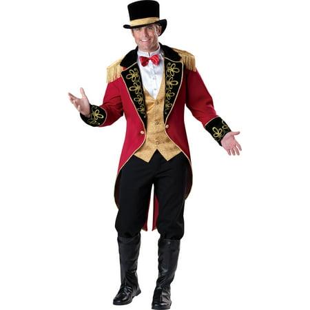 Ringmaster Costume - Mens