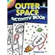 Space Activity Book (each) - Party Supplies
