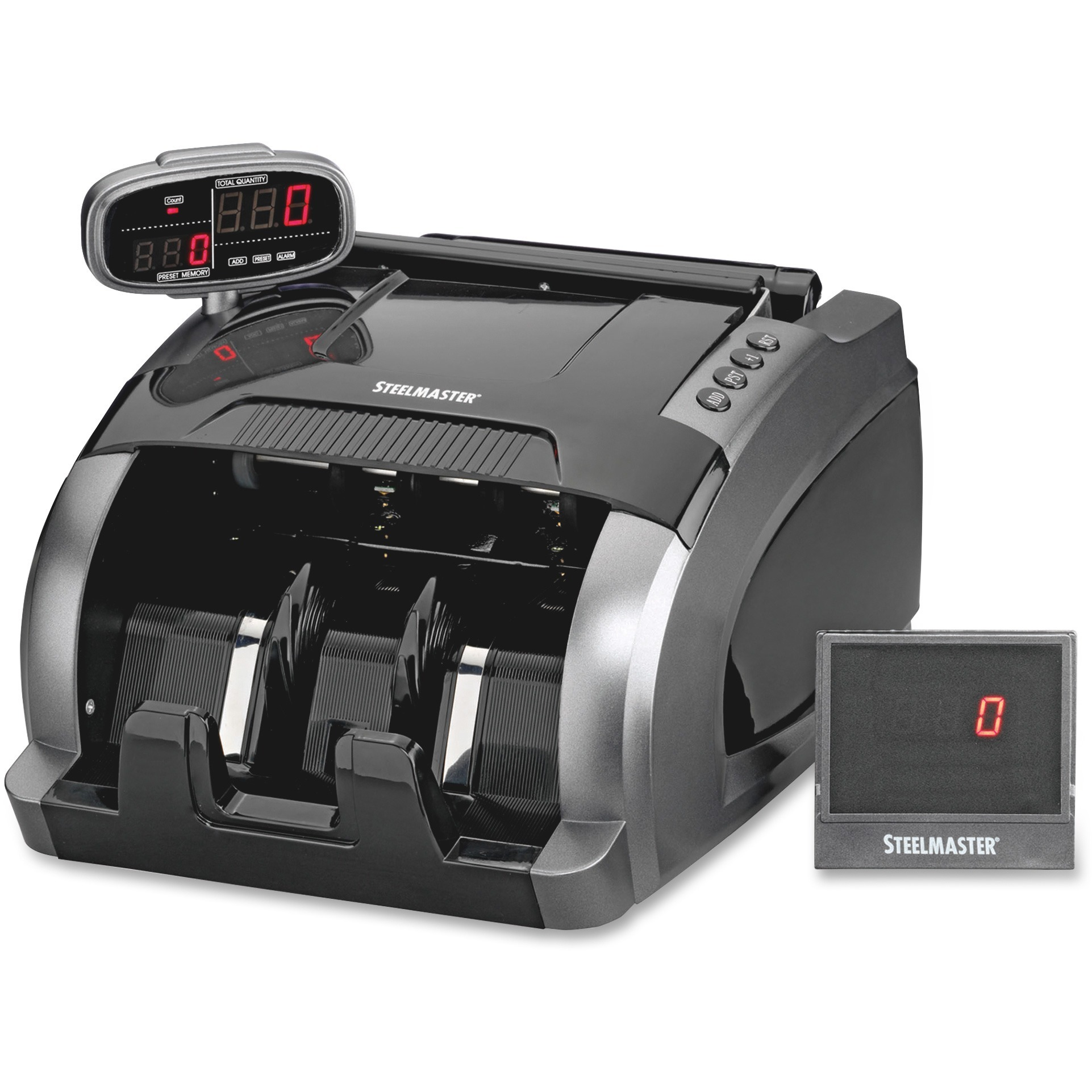 Steelmaster, MMF2004800C8, 4800 Currency Counter, 1 Each, Black