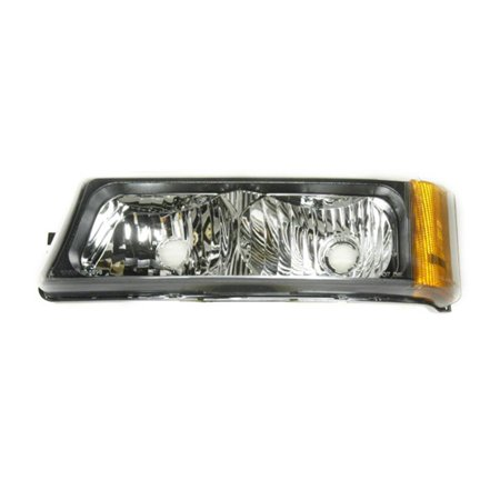 2003-2006 Chevrolet Avalanche 1500  Driver Side Left Parking Lamp w/ Marker, Running and Signal Lamps