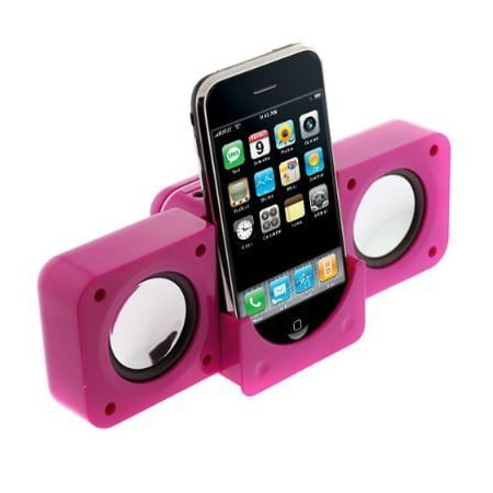 Portable Folding Stereo Mini Speaker for Apple iPod - Hot (Folding Stereo)
