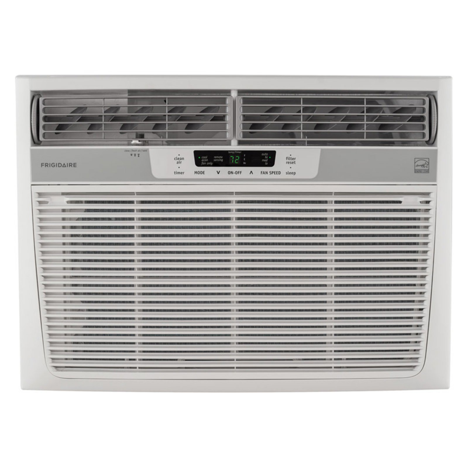 Frigidaire FFRE1533S1 15,000 BTU 115V Window-Mounted Median Air Conditioner with Temperature Sensing Remote Control
