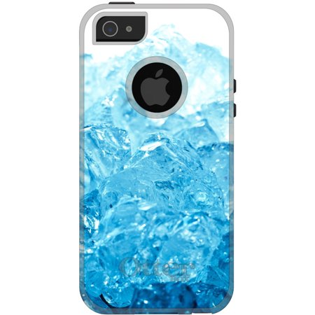 CUSTOM Black OtterBox Commuter Series Case for Apple iPhone 5   5S   SE -  Clear 4f6651698e87