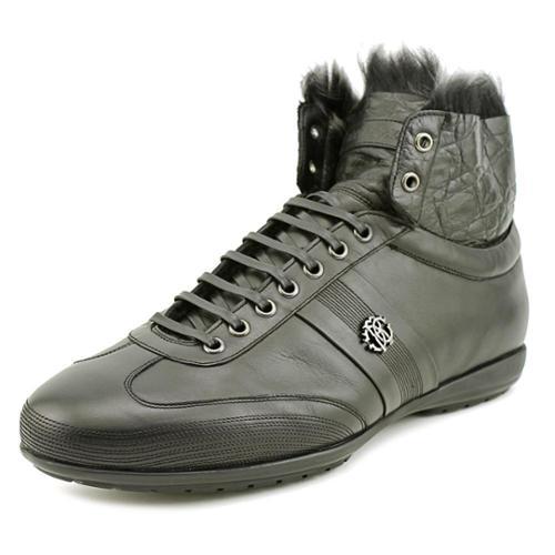 Roberto Cavalli Nero Men US 8.5 Black Sneakers