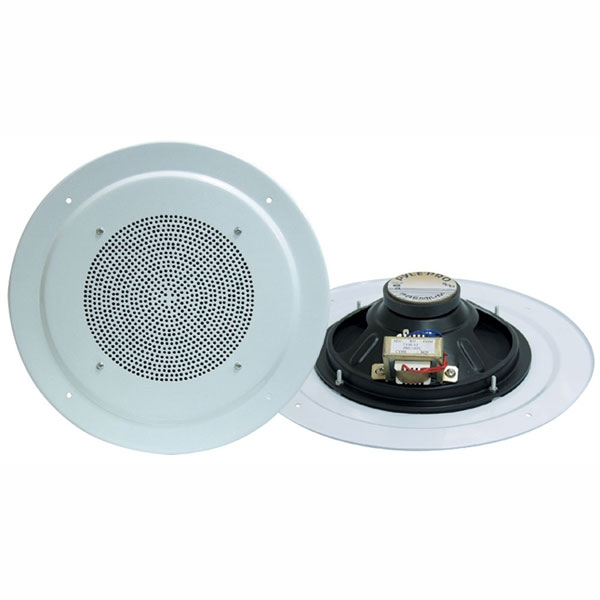 "Pyle 8"" Full Range In-Ceiling Speaker System with Transformer"
