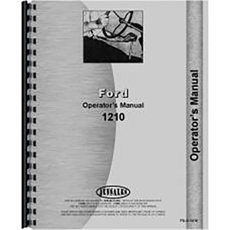 1964 Ford Owners Manual - New Ford 1210 Tractor Operators Manual