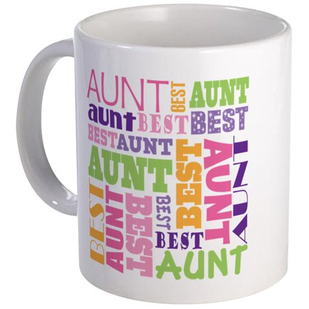 CafePress - Best Aunt Design Gift Mug - Unique Coffee Mug, Coffee Cup