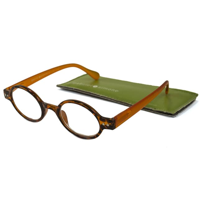gabriel + simone mens/ unisex remi round reading glasses 1.25