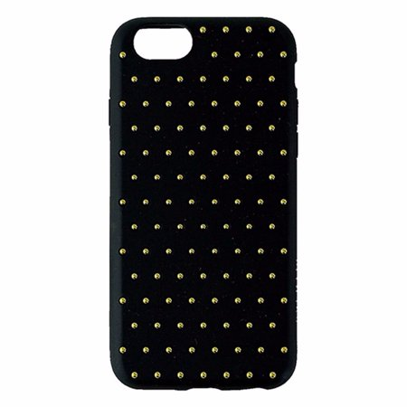 Agent 18 Edge Vest Series Case for Apple iPhone 6/6s - Black with Gold Studs (Refurbished) ()