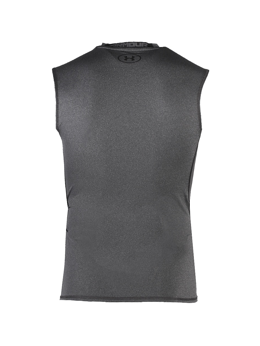 a5048956f9c5b 1257469 - Under Armour 1257469 Mens Carbon UA HeatGear Sleeveless  Compression Shirt Medium - Walmart.com