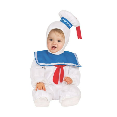 Stay Puft Ez-On Romper Toddler Halloween Costume (Stay Puft Halloween Costume)