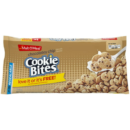 Malt-o Meal Chocolatey Chip Cookie Bag Cereal 34oz
