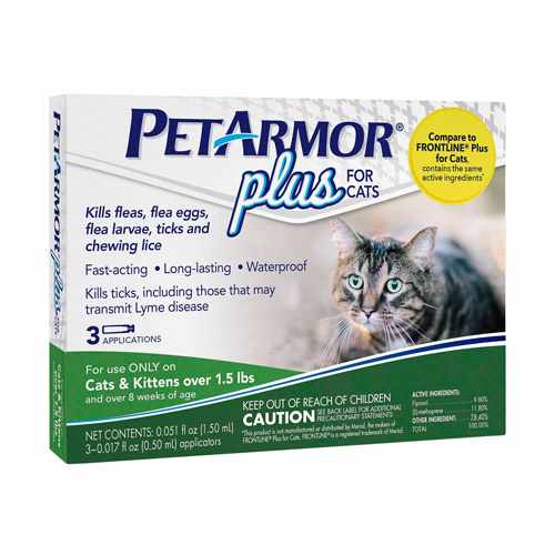 Pet Armor Plus, Cat