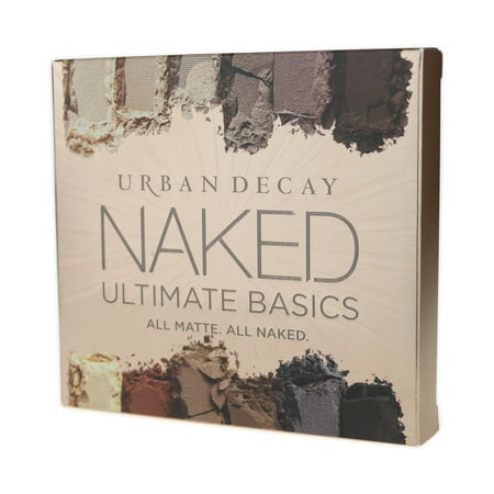 Urban Decay Naked Ultimate Basics Eye Shadow Palette 1 Palette 12 x 0.04oz Blow, Nudie, Commando, Tempted, Instinct, Lethal, Pre-Game, Extra Bitter, Faith, Lockout, Magnet, BlackJack](Urban Decay Electric Palette Halloween)