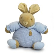 """Baby Bow Playtime Bunny Blue 13"""" by Russ Berrie"""