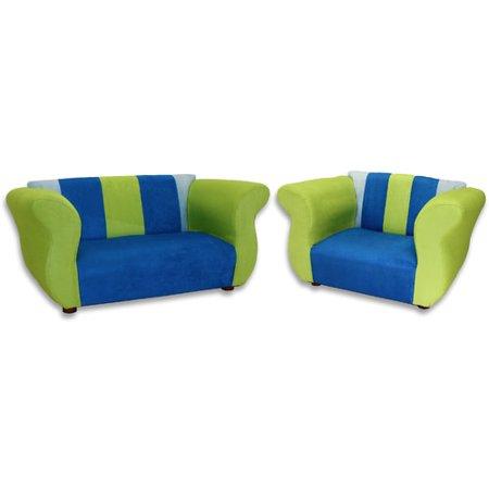 Keet Fancy Kids Sofa Chair Set