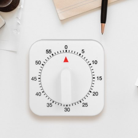 60 Minute Visual Analog Timer–Classroom Countdown timer for Kids and Adults,Time Management Tool for Teaching Cooking Homework Meeting Games - image 8 of 9