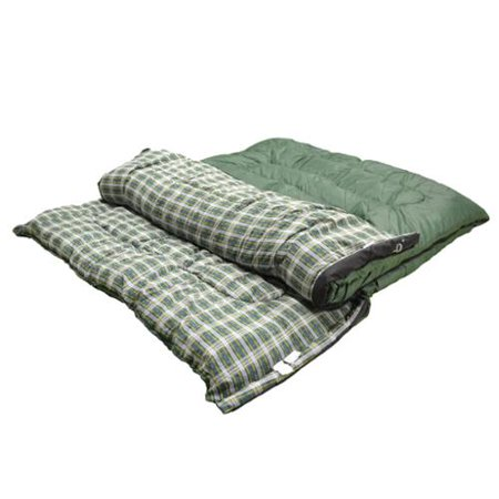 Best Choice Products presents the new 2-IN-1 style sleeping bag. Experience the great outdoors in comfort. Providing comfort and warmth in temperatures between 23°F - 50°F, this 2-in-1 style can be used as a sleeping bed for two or be unzipped and separated to create 2 singles.