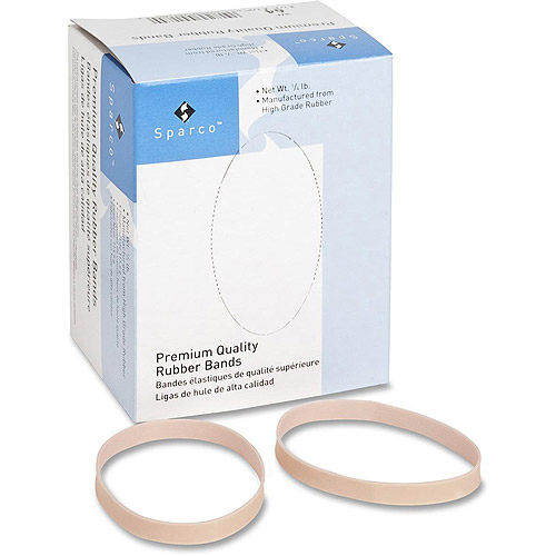 Sparco High Quality Box Rubber Bands