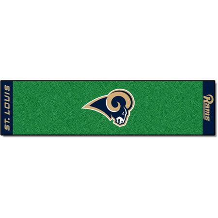 FanMats NFL St Louis Rams Putting Green Mat ()