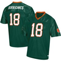 Men's Russell Athletic Green Miami Hurricanes Replica Football Jersey