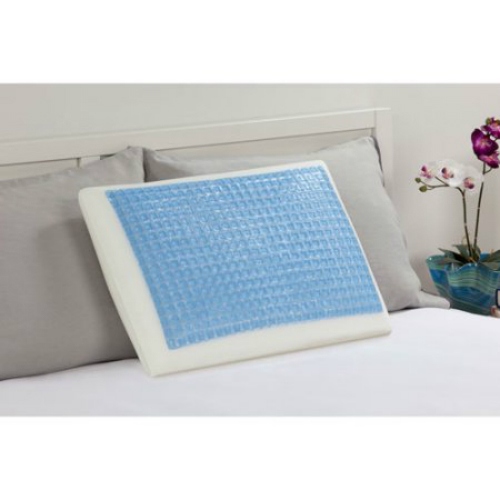 """Small Square Gel Bed Pillow F01-00044-ST0 Gel Bed Pillow"""