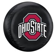 Fremont Die FMT-48498 Ohio State Buckeyes Ncaa Spare Tire Cover [standard] [black]