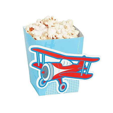 Cardboard Cut Out Up And Away Popcorn Boxes. (2 Dozen Per Unit) 3
