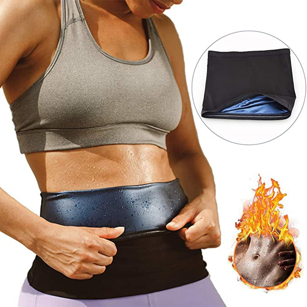 UNISEX Sweat Shaper Slimming Belt For Waist FREE POST ONE SIZE Weight Loss