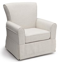 Delta Children Epic Nursery Glider Swivel Rocker Chair, Sand
