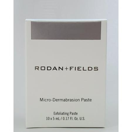 Rodan + Fields Micro-Dermabrasion Paste Packets 10 x 5ml