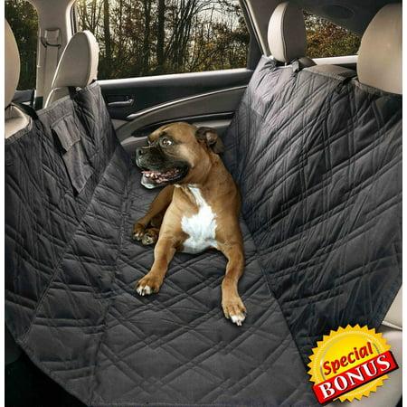 Groovy Yermo Pet Hammock Dog Car Seat Cover Protector Waterproof 57L X 55W Non Slip Backing Heavy Duty Polyester Machine Washable Plus Free Bonus Frankydiablos Diy Chair Ideas Frankydiabloscom