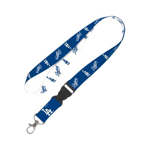 Los Angeles Dodgers Lanyard With Detachable Buckle - No Size