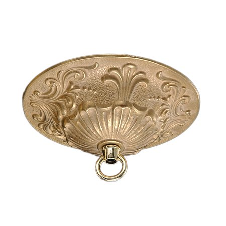 B&P Lamp® Finely Detailed Brass Canopy, 5 1/2