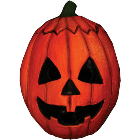 Pumpkin Halloween III Latex Mask Adult Halloween Accessory - Pumpkin Mask Printable Halloween