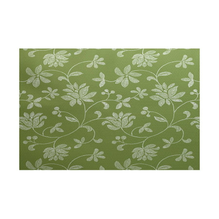 - Simply daisy 3' x 5' traditional floral floral print indoor rug