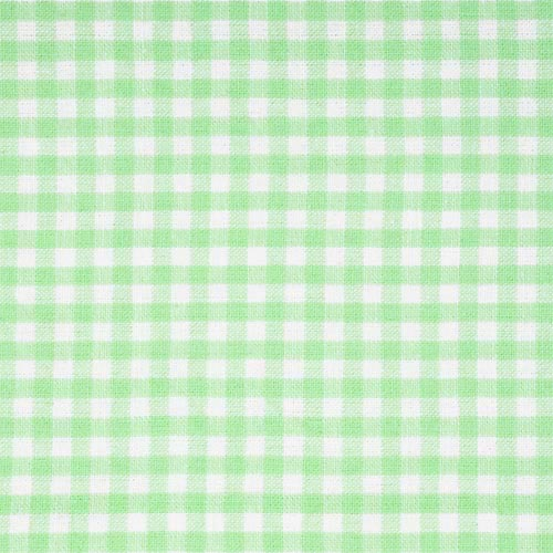 Burlington Large Wicker Hamper Liner, Sage Gingham