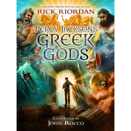 Image result for percy jackson's greek gods cover