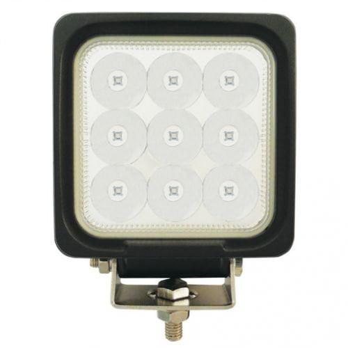 LED Work Light - 27W, Sprayer, Square, Blue Spot Beam