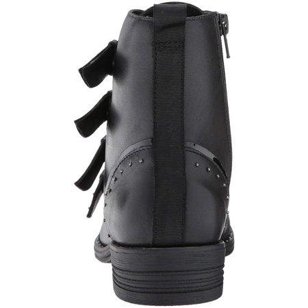 1f9d3b854bd steve-madden - steve madden pursue studded side zip bootie - black -  Walmart.com