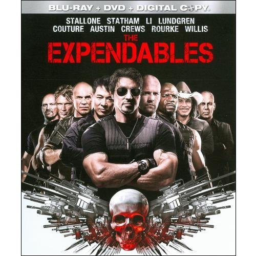 EXPENDABLES BLU RAY/DVD COMBO W/DIGITAL COPY