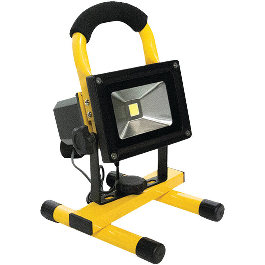 Race Sport Rs-10w-750lm-w LED Portable Work Light, White