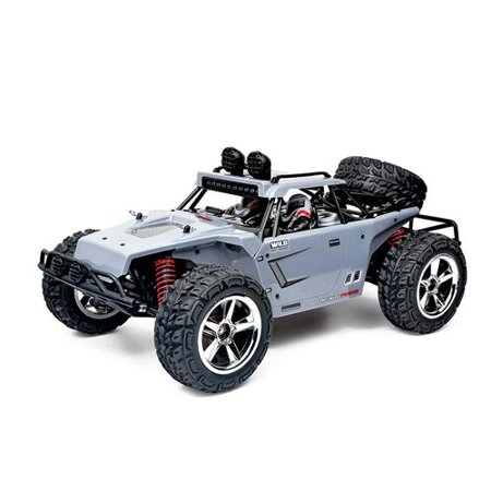 FMT 1:12 SCALE RC CAR Desert Buggy High Speed 30MPH+ 4x4 Fast Race Cars RTR Racing 4WD ELECTRIC POWER 2.4GHz Radio Remote control Off Road Truck (Color: Gray)