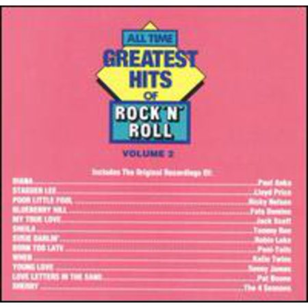 All Time Greatest Rock & Roll 2 / Various (CD)