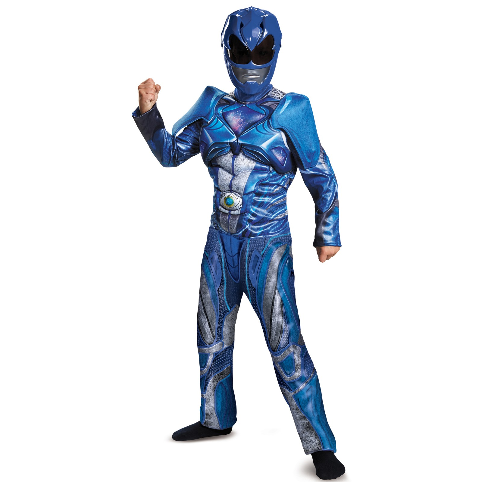 Power Rangers: Blue Ranger Classic Muscle Child Costume by Disguise