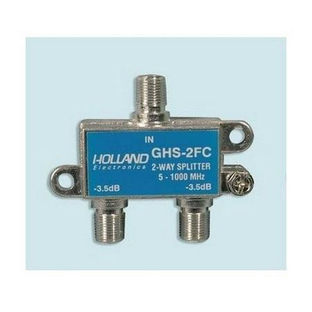 Brand New Holland Electronics 33-2130 2 Way Rfi Splitter 2 Pack (Rfi Splitter)