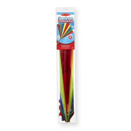 Melissa & Doug Multi-Color Spectrum Diamond Kite (30-Inch
