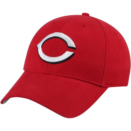 Cincinnati Reds Fan Favorite Basic Adjustable Hat - Red - OSFA
